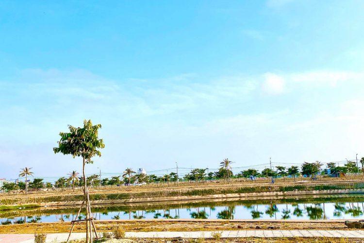 Bán Đất Nền Đầm Sen Nam Hòa Xuân đường 7.5m b2.140 lô 5x - Đối diện trường học HX